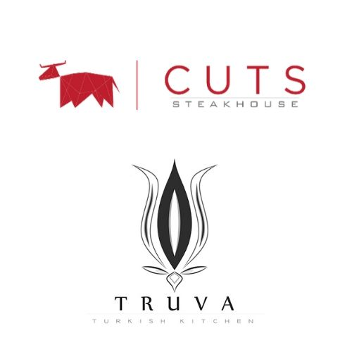CUTS STEAKHOUSE and  TRUVA-TURKISH RESTAURANT